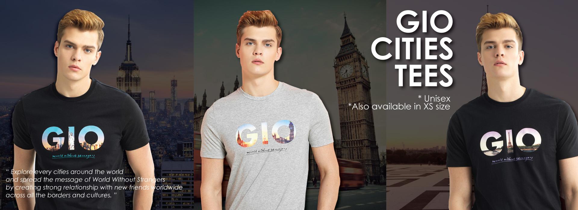 GIO cities tee