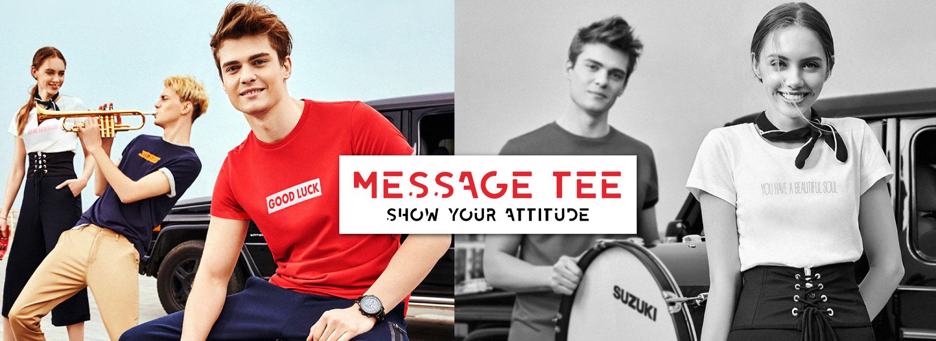 message tee