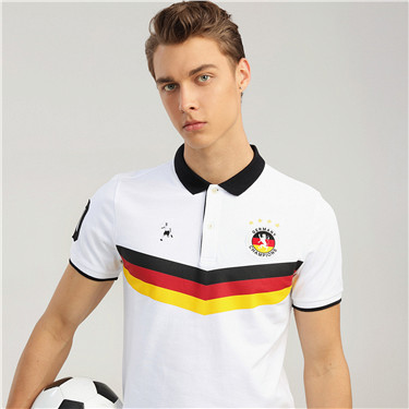 World Football series short sleeves polo