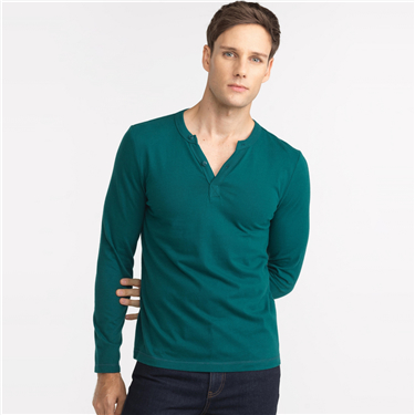 Solid henley
