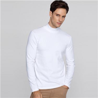 Mock turtleneck t-shirt