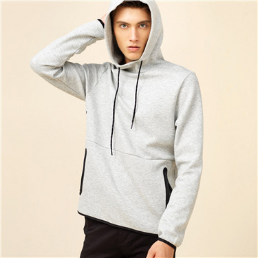 Cotton slim hoodies