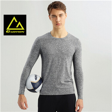 Coolmax seamless long sleeve tee