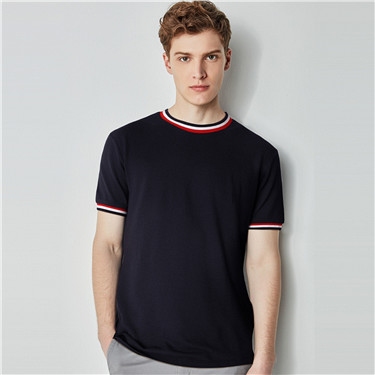 Cotton short sleeves tee