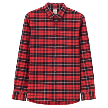 Basket-weave shirt