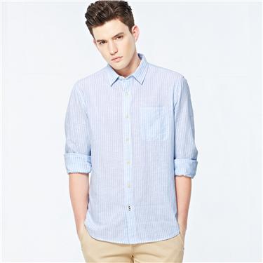 Linen long sleeves shirt