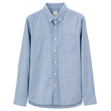 Chambray long sleeve shirt (Men)