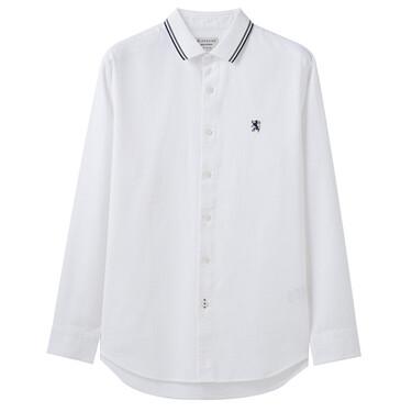 Long-sleeve pattern shirt