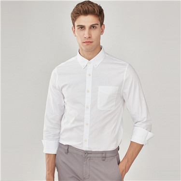 Oxford slim cotton shirt