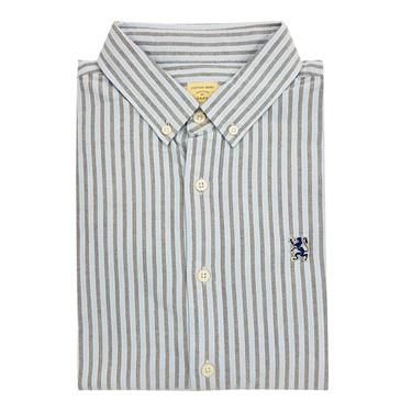Long-sleeve pattern stripe shirt