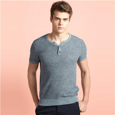 Cotton knitted tee
