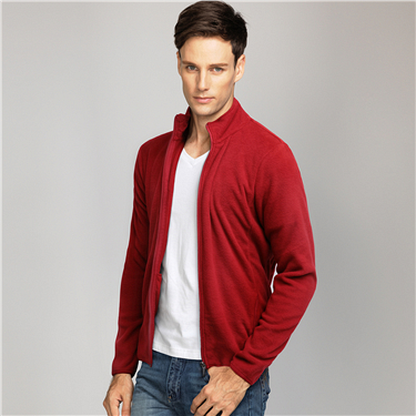 Fleece zip jackets