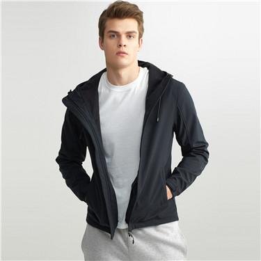 Solid windproof jacket