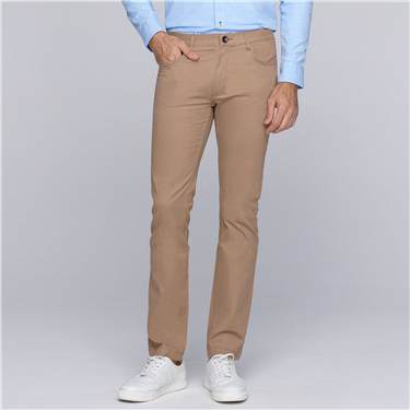 INNO low rise modern tapered khakis