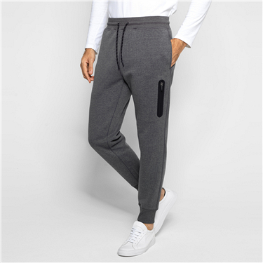 Solid elastic joggers (Men)
