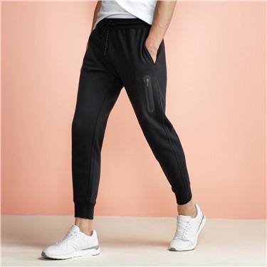 Solid elastic joggers