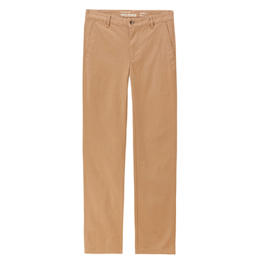 Mid low rise solid tapered pants