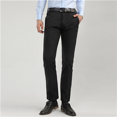 Stretchy slim fit pants
