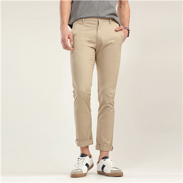 Stretchy tapered pants