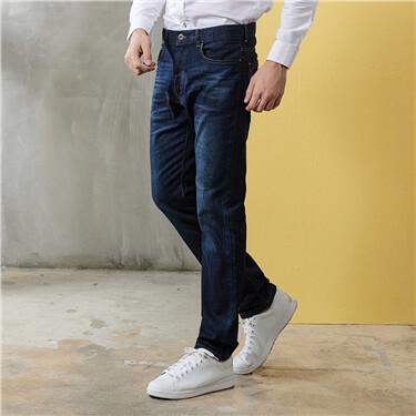 Pocket denim jeans