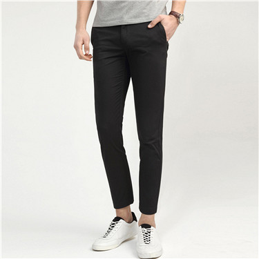 Stretchy mid low rise ankle pants (Men)