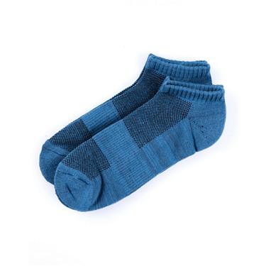 素色彈力棉防滑休閒短襪(2對裝)