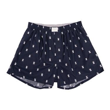 Plaid cotton boxers (1-pack)