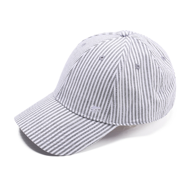 Frog embroidery stripe cap