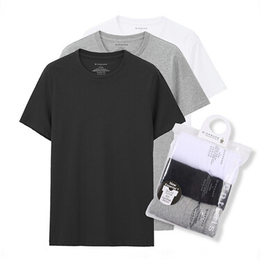 Essential basic tees (3-pack)
