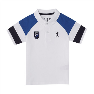 Junior sport embroidery polo