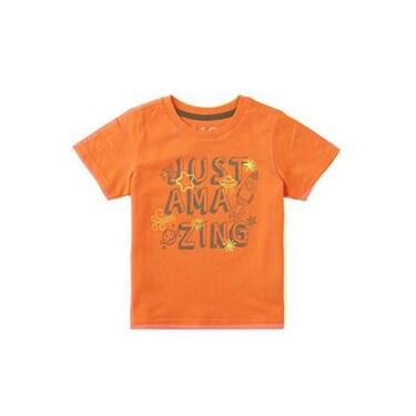 童裝印花圖案短袖T恤