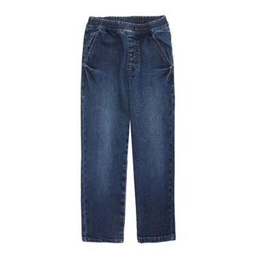 橡筋褲頭五袋松身牛仔褲