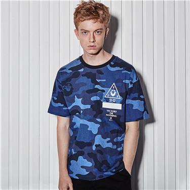 Camouflage VON short sleeves tee