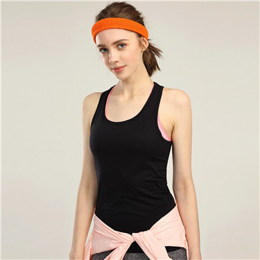 Seamless knitted sport tank