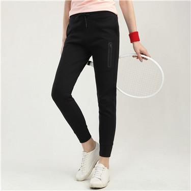 G-motion系列双面布束脚运动裤