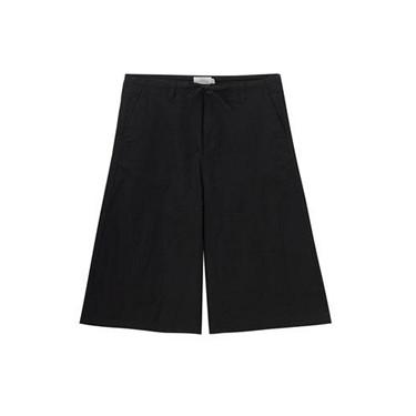 Mid rise calf-length pants