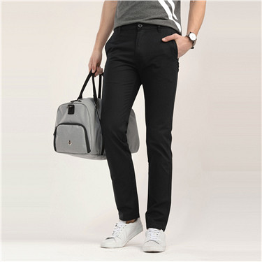 Cotton slim casual pants