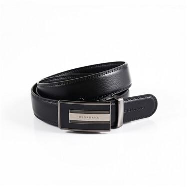 Plain automatic buckle belt