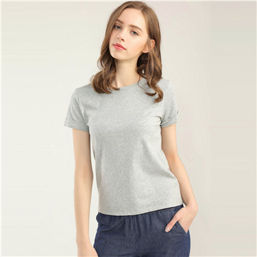 Cotton short sleeves T-shirt